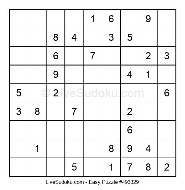 Beginners Puzzle #493329