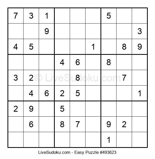 Beginners Puzzle #493623