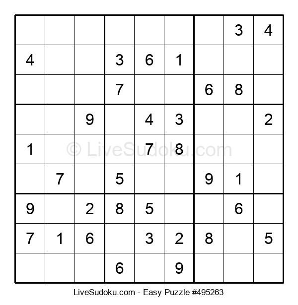 Beginners Puzzle #495263
