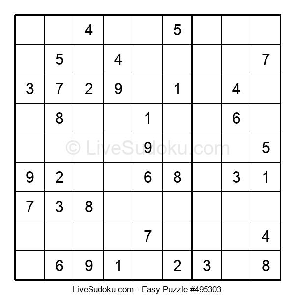 Beginners Puzzle #495303