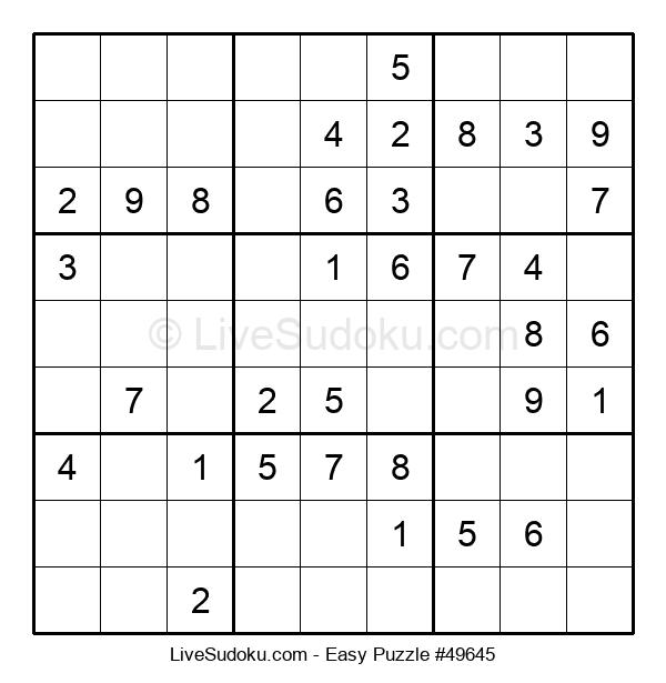 Beginners Puzzle #49645
