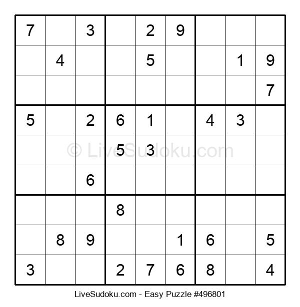 Beginners Puzzle #496801