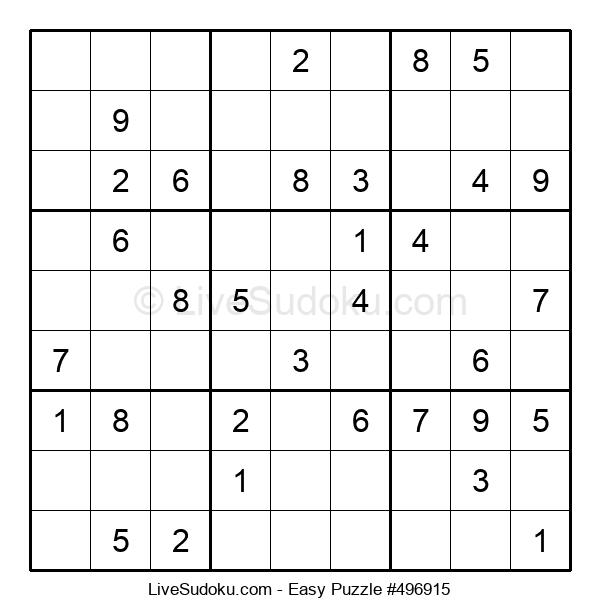 Beginners Puzzle #496915