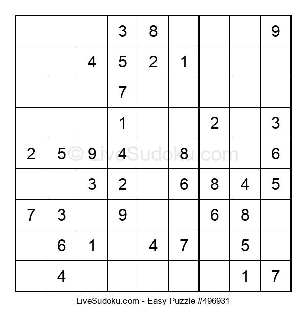 Beginners Puzzle #496931