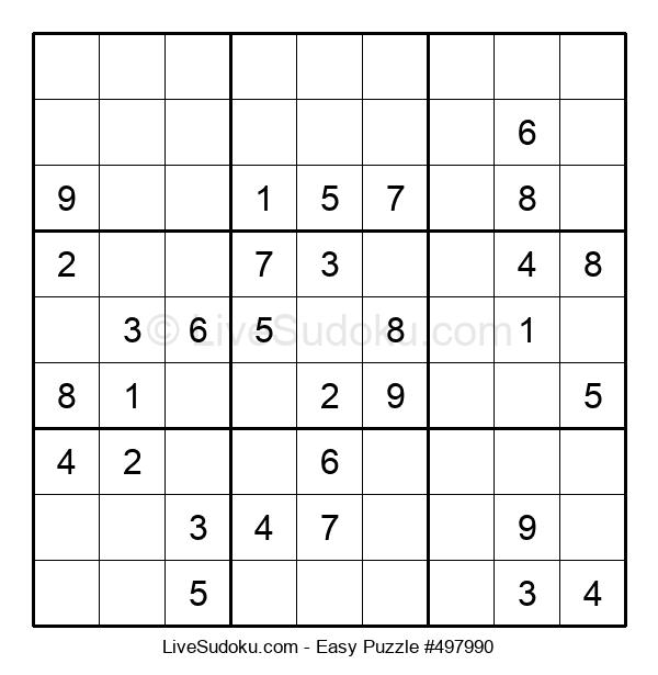 Beginners Puzzle #497990