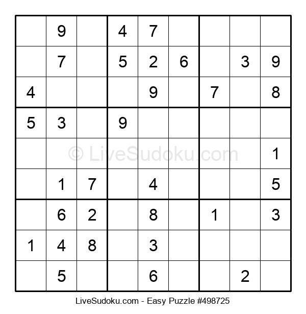 Beginners Puzzle #498725
