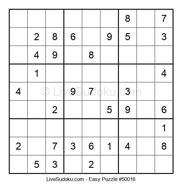 Beginners Puzzle #50016