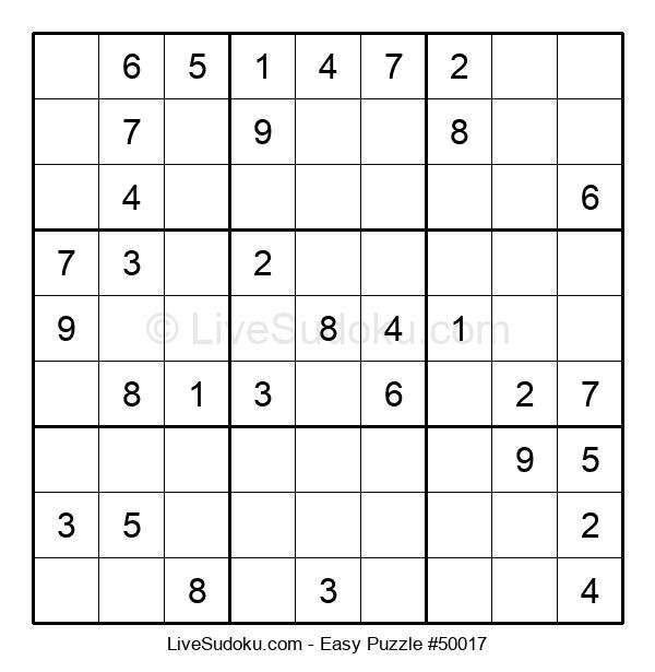 Beginners Puzzle #50017