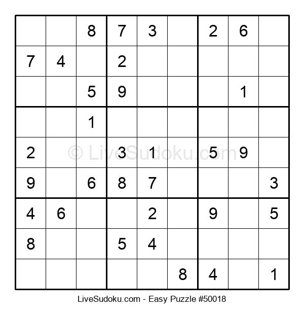 Beginners Puzzle #50018