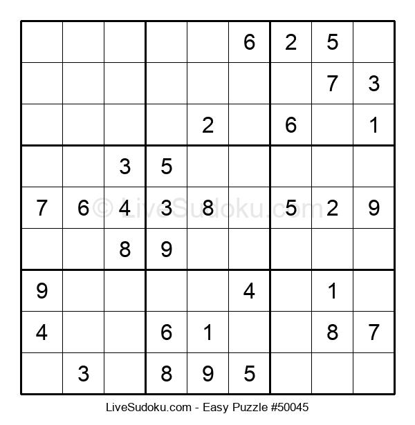 Beginners Puzzle #50045