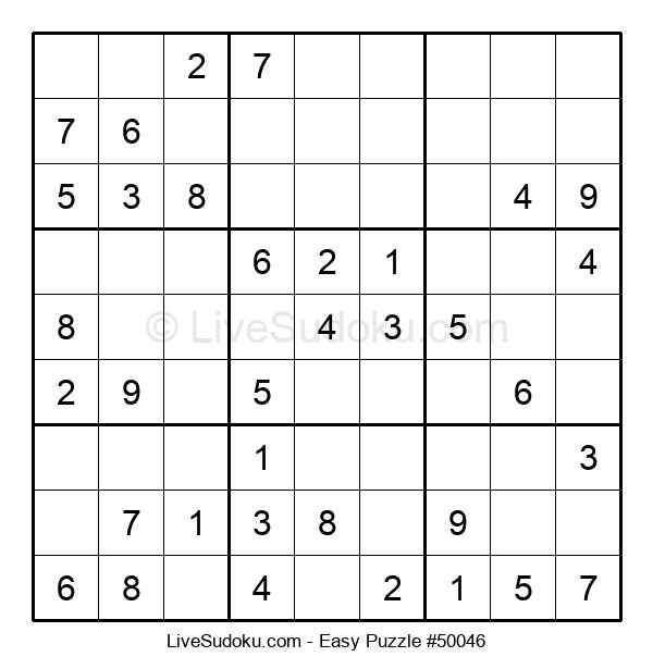 Beginners Puzzle #50046