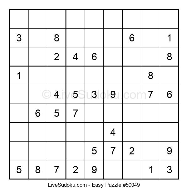 Beginners Puzzle #50049