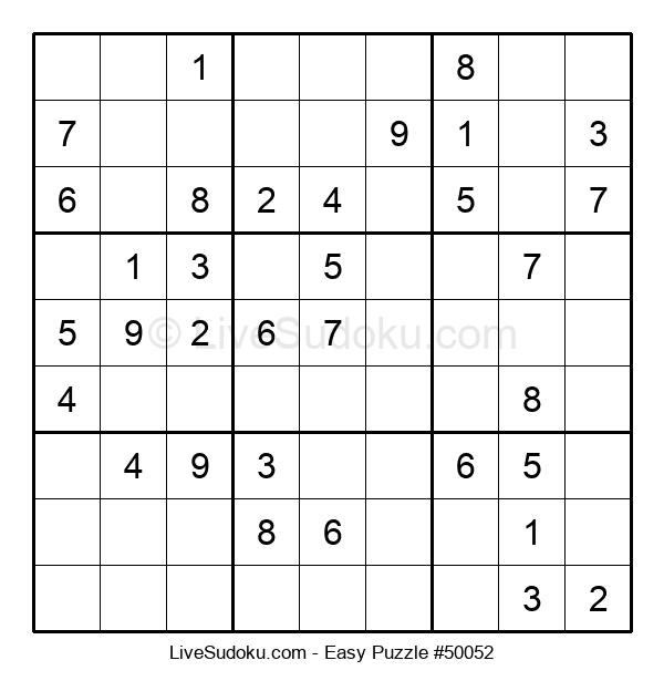 Beginners Puzzle #50052