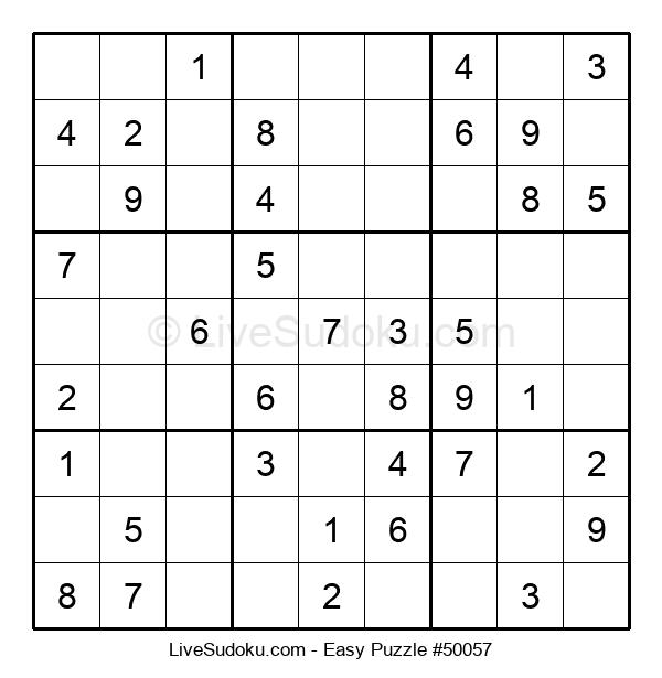 Beginners Puzzle #50057