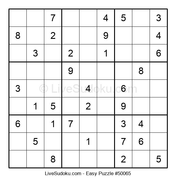 Beginners Puzzle #50065