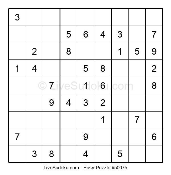 Beginners Puzzle #50075