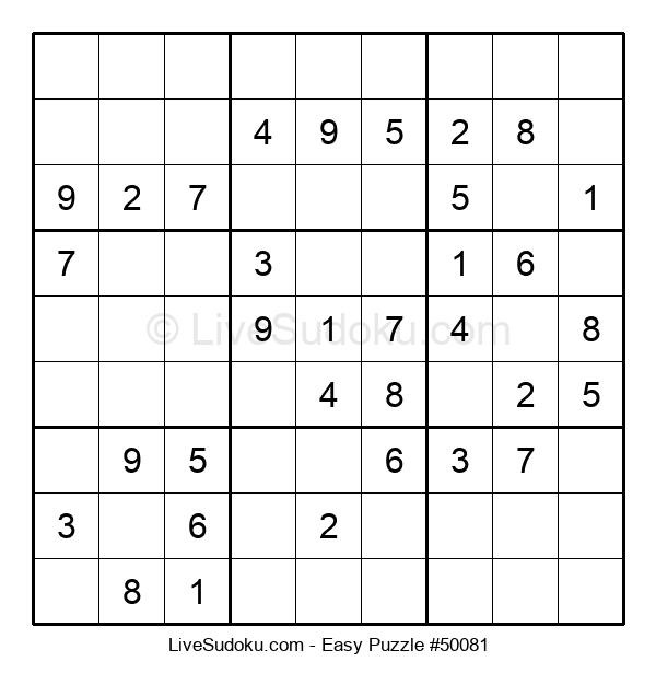 Beginners Puzzle #50081