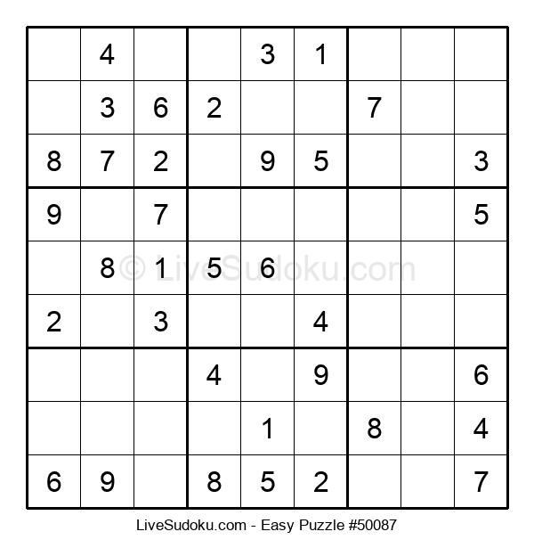 Beginners Puzzle #50087