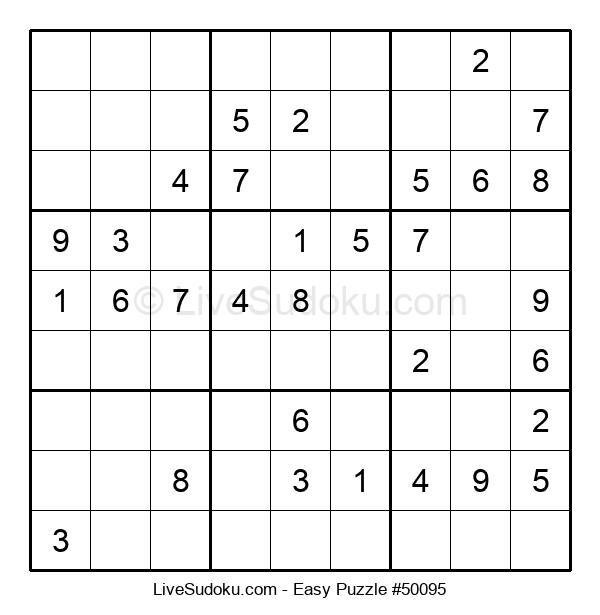 Beginners Puzzle #50095