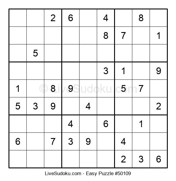 Beginners Puzzle #50109