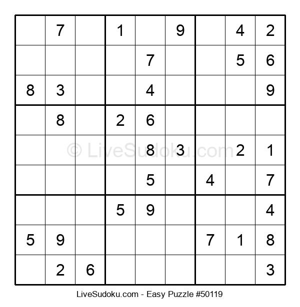 Beginners Puzzle #50119