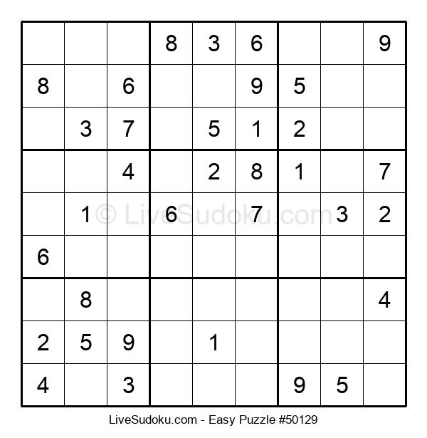 Beginners Puzzle #50129