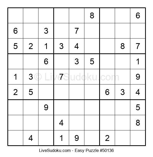 Beginners Puzzle #50136