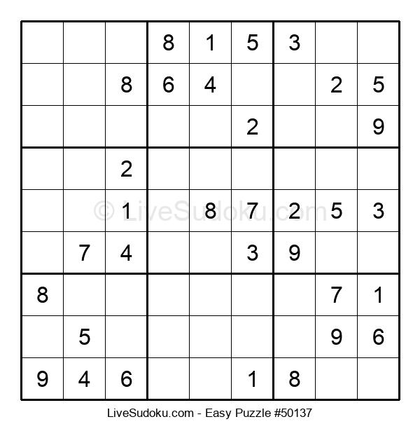 Beginners Puzzle #50137