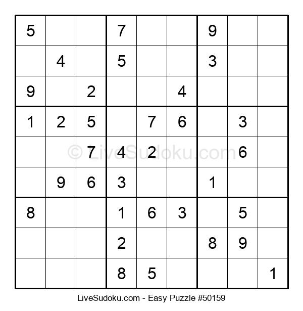 Beginners Puzzle #50159