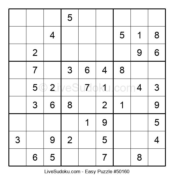 Beginners Puzzle #50160