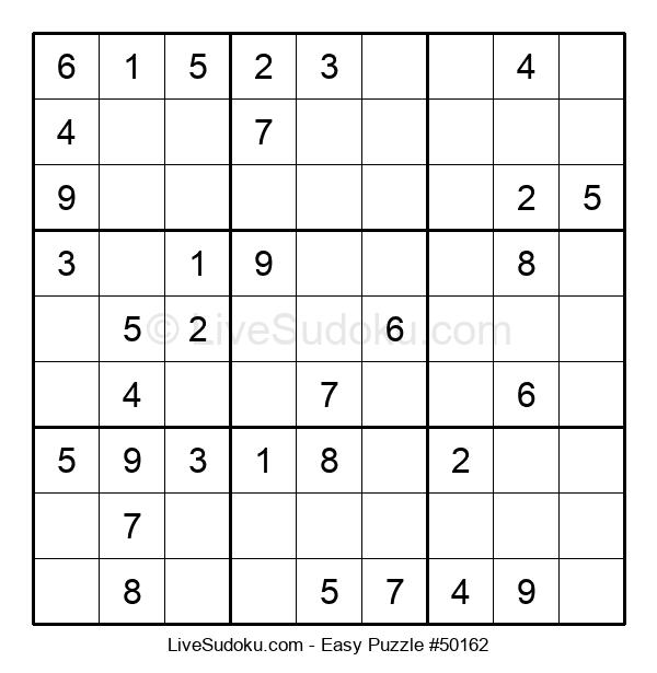 Beginners Puzzle #50162