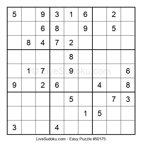 Beginners Puzzle #50175