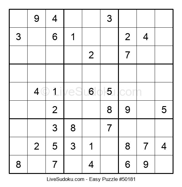 Beginners Puzzle #50181