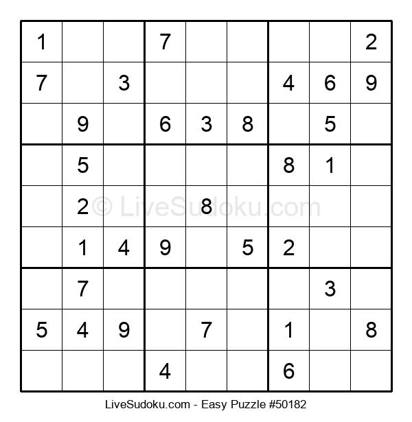 Beginners Puzzle #50182