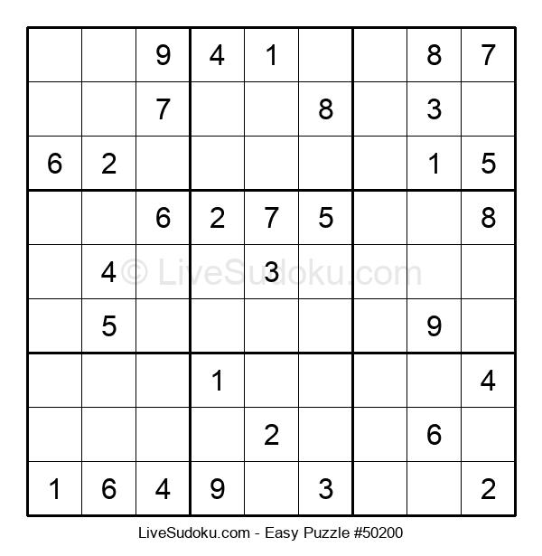 Beginners Puzzle #50200