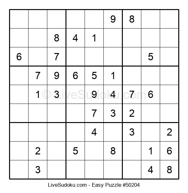 Beginners Puzzle #50204