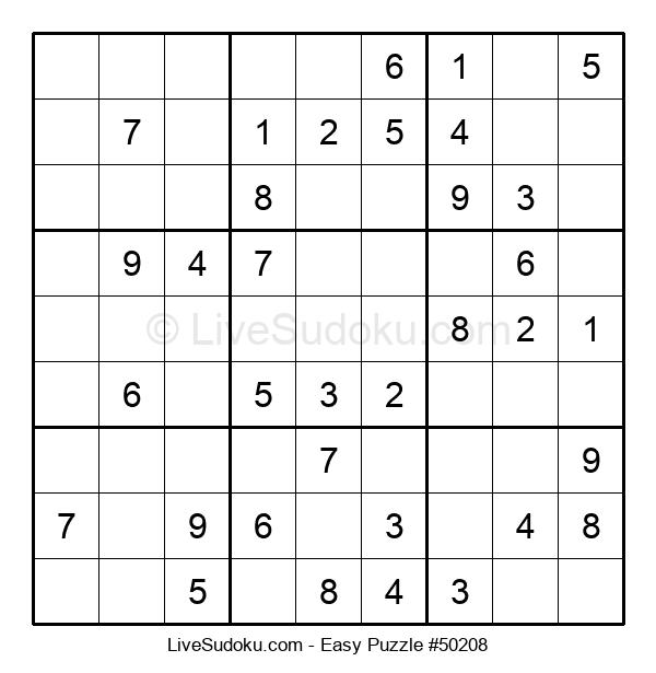 Beginners Puzzle #50208