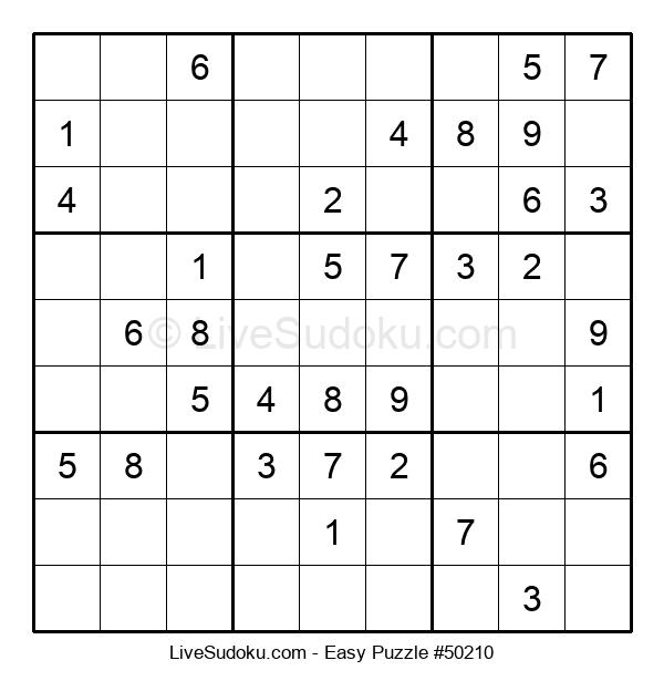 Beginners Puzzle #50210
