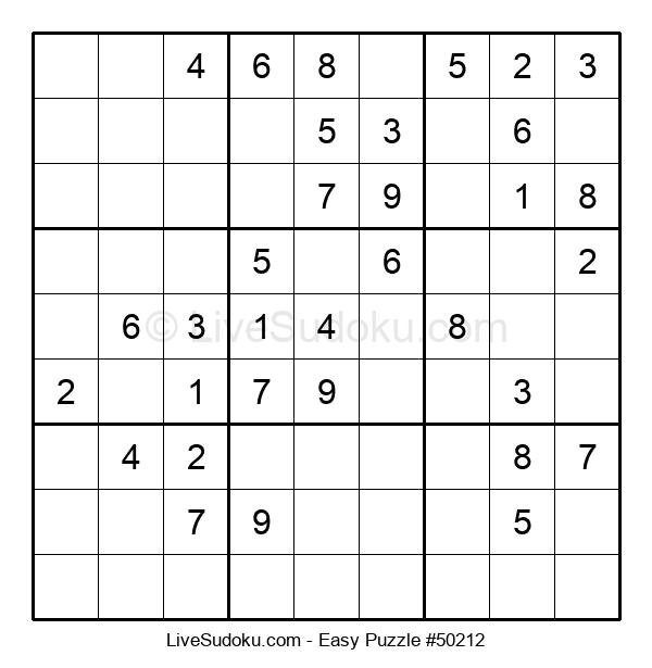 Beginners Puzzle #50212