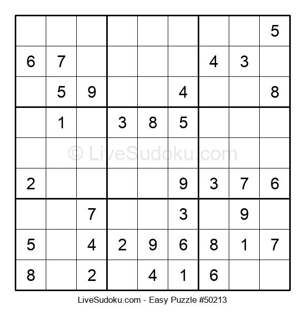 Beginners Puzzle #50213