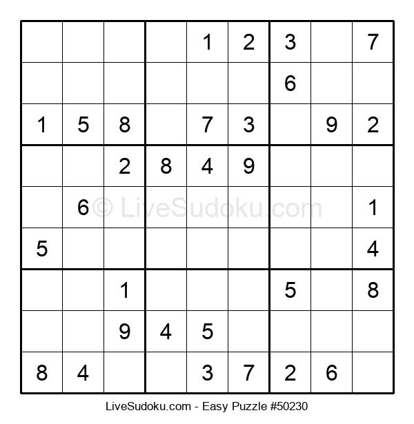 Beginners Puzzle #50230