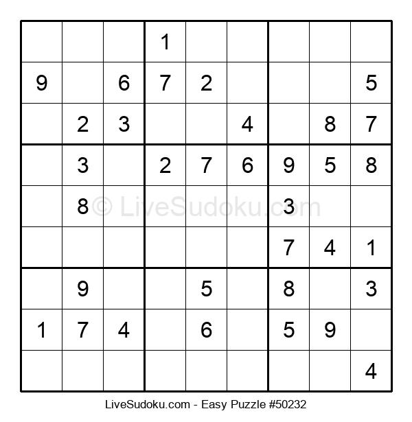Beginners Puzzle #50232