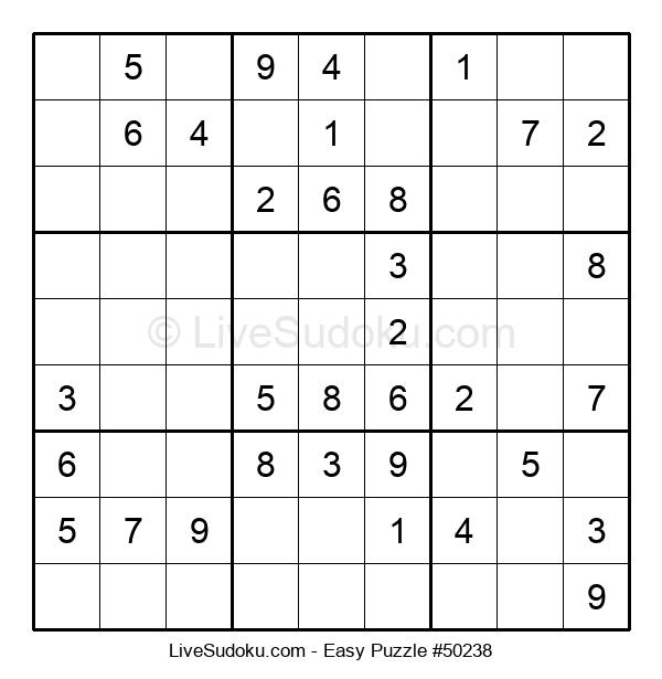Beginners Puzzle #50238