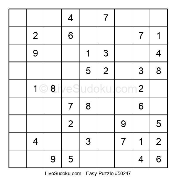 Beginners Puzzle #50247