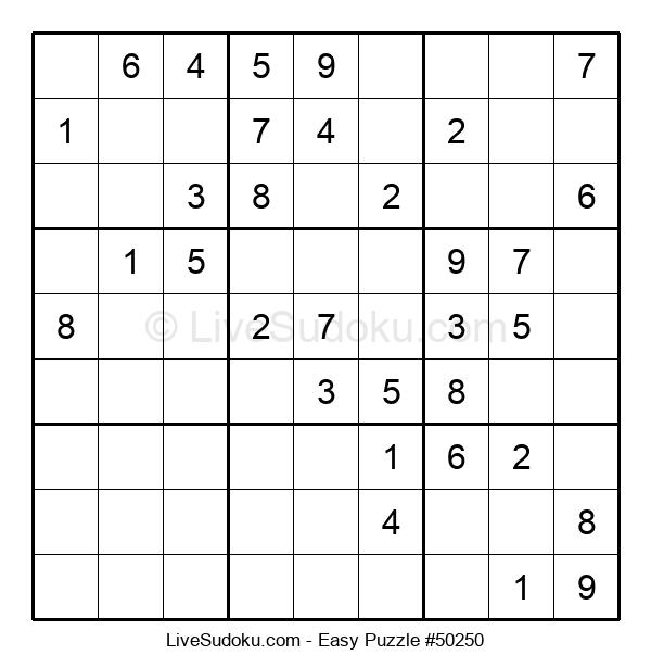 Beginners Puzzle #50250