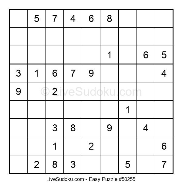Beginners Puzzle #50255