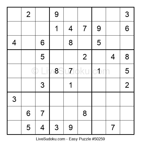 Beginners Puzzle #50259