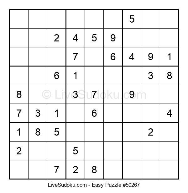 Beginners Puzzle #50267