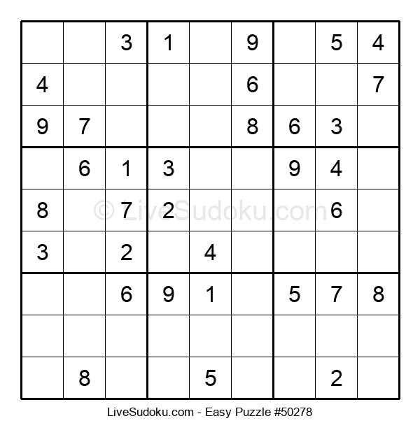 Beginners Puzzle #50278