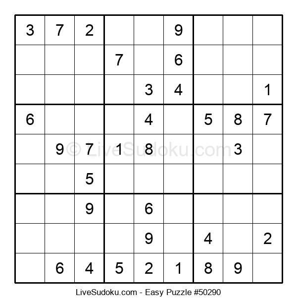 Beginners Puzzle #50290